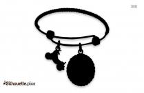 Hoop Earrings Silhouette Clip Art