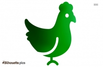 Chicken Icon Silhouette Image Download