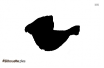 Chicken Leg Piece Silhouette