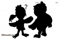 Chicken Mario Clipart Cartoon Characters Silhouette