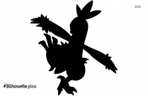 Black And White Pokemon Silhouette