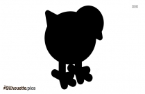 Chicken Silhouette Free Vector Art
