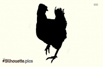 Cock Silhouette Clipart Images, Pictures
