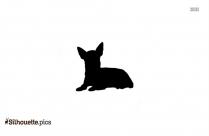 Cute Little Chihuahuas Silhouette