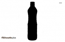 Water Bottle Silhouette Image And Vector