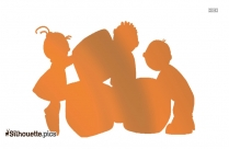 Child Care Silhouette