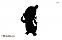 Chilly Willy Silhouette