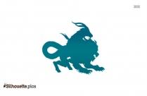 Chimera Dragon Silhouette
