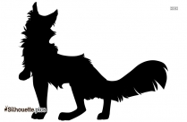 Wolf Link With Ordon Shield Silhouette