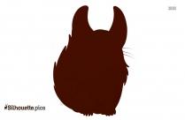 Chinchillas Symbol Silhouette Picture