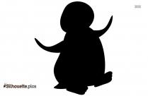 King Penguin Silhouette