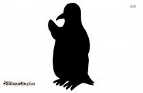 Birbs Adelie Penguin Silhouette