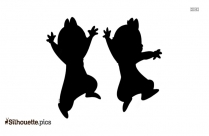Cartoon Characters Jerry Silhouette