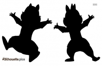 Disney Cat Clipart Silhouette Black And White