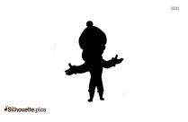 Doraemon Shizuka Silhouette