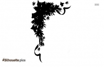 Christmas Bells Silhouette Drawing