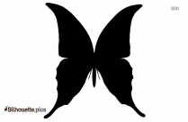 Butterfly Outline Silhouette Free Vector Art