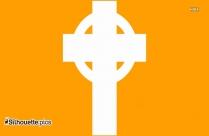 Maltese Cross Silhouette Free Vector Art