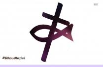 Christian Religious Symbols Silhouette
