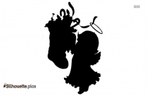 Christmas Angels Clipart Silhouette