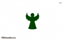 Cartoon Earth Fairy Silhouette