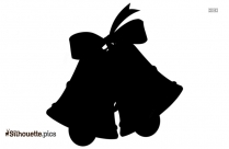 Cartoon Jingle Bell Silhouette Picture