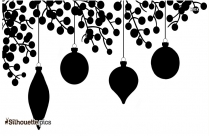 Christmas Decoration Vector Silhouette