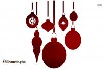 Christmas Decorative Ornaments Clip Art