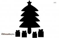 Angel Tree Silhouette Clip Art