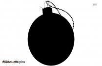 Christmas Hanging Silhouette Image