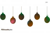 Christmas Hangings Silhouette Art