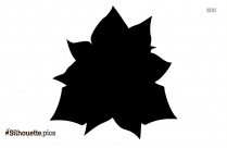 Orchids Silhouette Picture, Orchid Flower Cartoon Image