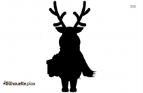 Reindeer Rudolph Christmas Silhouette Pictures