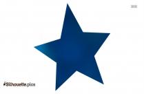 Christmas Star Silhouette Image