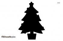 Download Christmas Penguins Silhouette