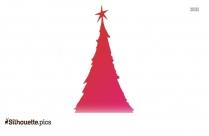 Cartoon Winter Tree Drawing Silhouette