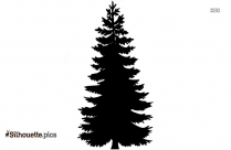 Pine Tree Logo Silhouette For Download