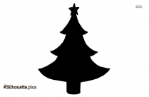 Christmas Tree Silhouette Image And Clipart
