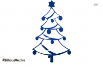 Christmas Tree Silhouette Vector And Graphics