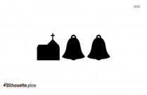 Christian Church Cross Silhouette
