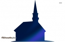 Church Silhouette Image Free Download