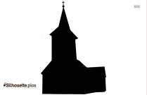 Church Clip Art Silhouette Image