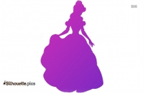 Cinderella Dancing Silhouette Clipart