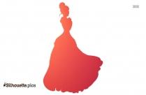 Cinderella Silhouette Painting
