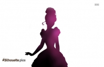 Cinderella Silhouette Png