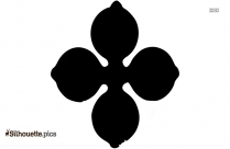 Cinquefoil Flower Silhouette Icon