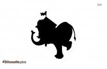 Circus Elephant Cartoon Picture Silhouette