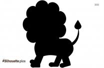 Lion Silhouette Illustration