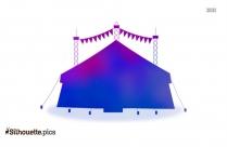 Circus Silhouette Vector