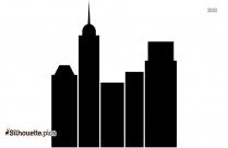 USA Skyline Silhouette